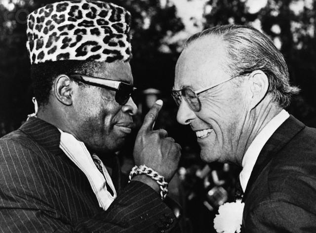 Prince Bernhard Meets Mobuto