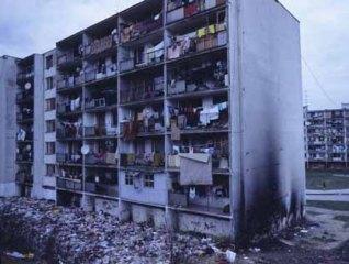 Roma-ghettokvarteret Lunik IX i Kosice