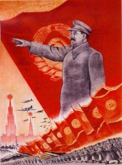 sovjetisk plakat A