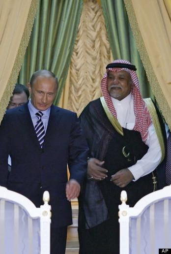 Vladimir Putin, Bandar bin Sultan