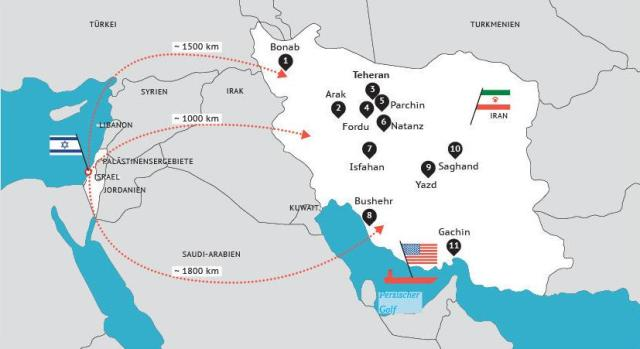 israel angreb iran