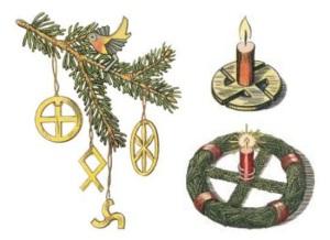 juletræ detalje